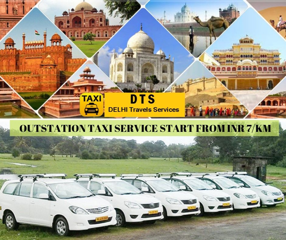 Online Outstation Cab Booking | One Way or Round Trip at Lowest Fare | Offer- Upto INR 100 Off