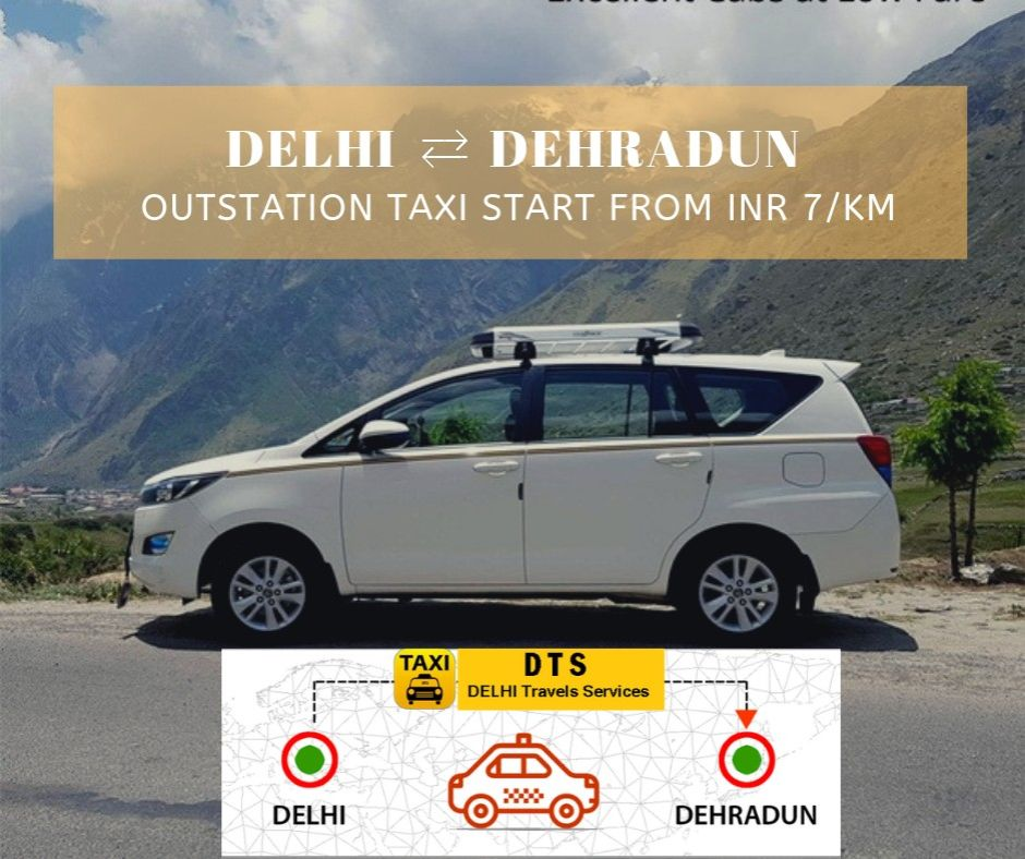 Delhi to Dehradun Taxi Only @  INR 2199. Upto 100 Off. Book Now to get this Offer.