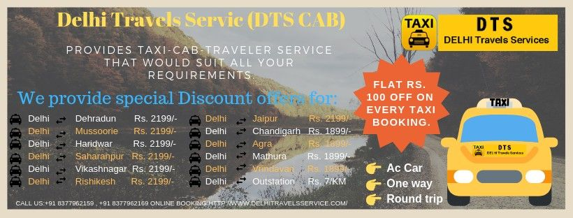 Why book taxi at Delhi Travels Service