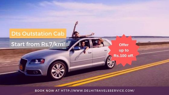 Top Online Cab Booking Service - Book Outstation Cabs at Lowest Fare Rs.7/km & Get offer, Up to rs.100 off. BOOK NOW